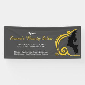 Beauty Salon (gold) * choose background color Banner