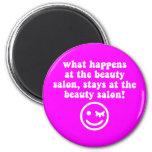 Beauty salon magnets