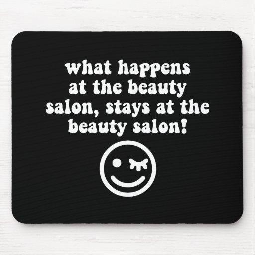 Beauty salon mousepads