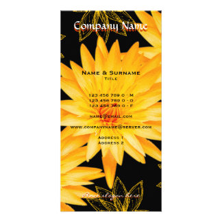 Beauty salon, spa, florist, gardener business card