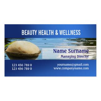 Beauty salon spa zen PERSONALIZE Business Card Template