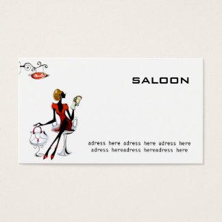 beauty saloon card