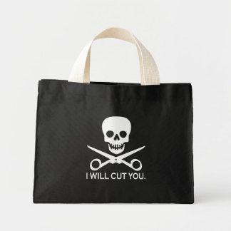 Beauty Shop Pirate_2 Mini Tote Bag