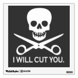Beauty Shop Pirate_Logo Room Graphic