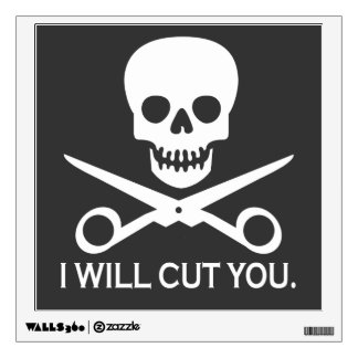 Beauty Shop Pirate_Logo Wall Decal