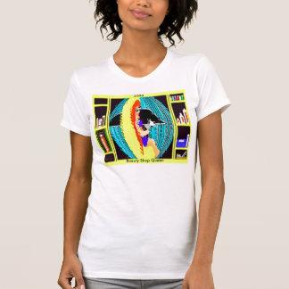 Beauty Shop Queen On WhiteT-Shirt T-Shirt