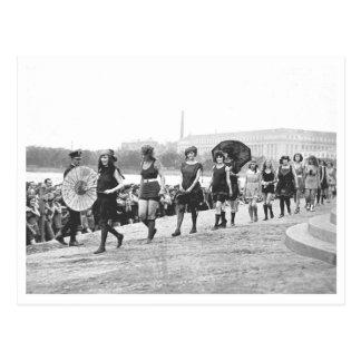 Beauty Show Glamour Girls Vintage 1922 Postcard
