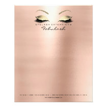 Beauty Skinny Lashes Makeup Stylist Eyebrows Flyer
