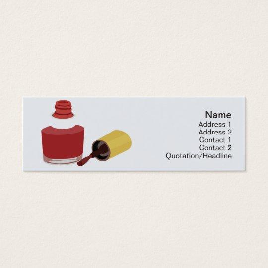 Beauty - Skinny Mini Business Card