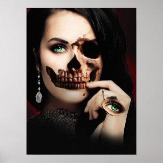 Beauty Skull Image Poster