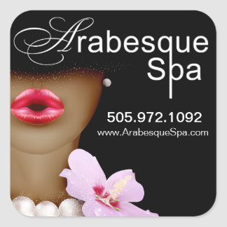 Beauty Spa Arabesque Product Stickers