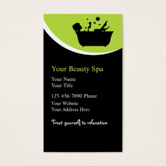 Beauty Spa Business Cards