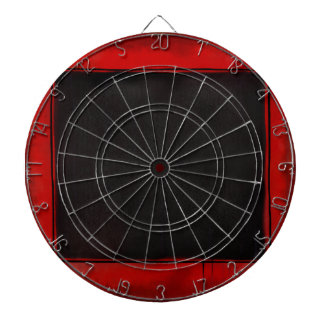 Beauty Squared Dartboard With Darts