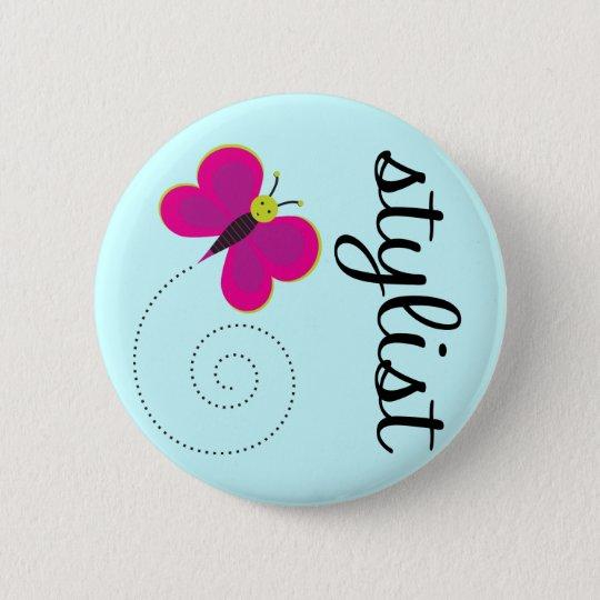 Beauty Stylist Button