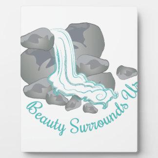 Beauty Surrounds Us Photo Plaque