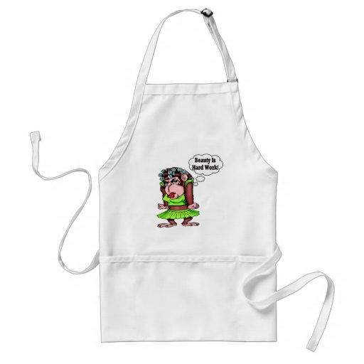 Beauty T-shirts and Gifts For Her Adult Apron