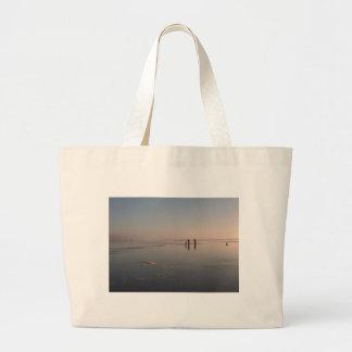 BEAUTY & the BEACH by SHARON SHARPE Jumbo Tote Bag