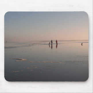 BEAUTY & the BEACH by SHARON SHARPE Mouse Pad