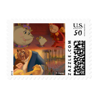 Beauty & The Beast | Beautiful Ballroom Postage