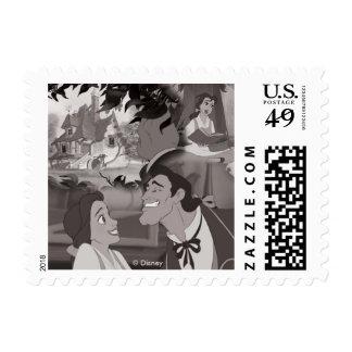 Beauty & The Beast | Belle & Gaston Postage