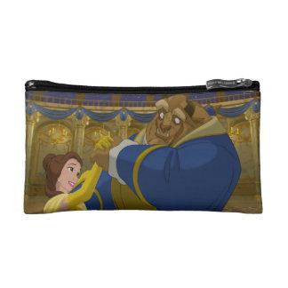 Beauty & The Beast | Belle & The Beast Dancing Makeup Bag