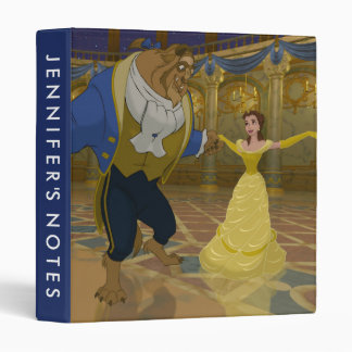 Beauty & The Beast | Dancing in the Ballroom Binder