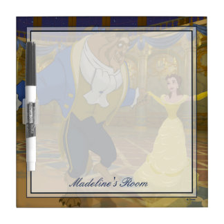 Beauty & The Beast | Dancing in the Ballroom Dry-Erase Board