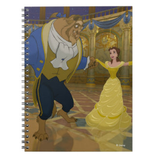 Beauty & The Beast | Dancing in the Ballroom Notebook