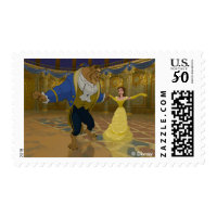 Beauty & The Beast | Dancing in the Ballroom Postage
