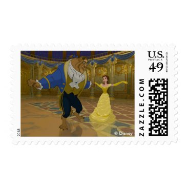 Disney Themed Beauty & The Beast | Dancing in the Ballroom Postage
