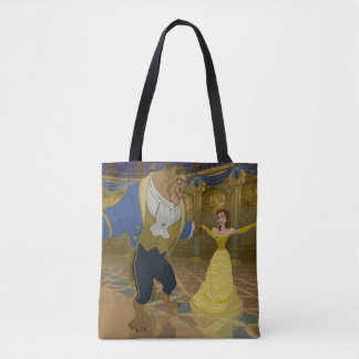 Beauty & The Beast | Dancing in the Ballroom Tote Bag