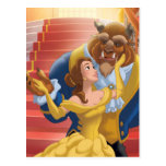 Beauty & The Beast | Fearless Postcard at Zazzle