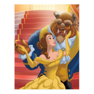 Beauty & the Beast | Fearless Postcard