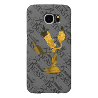 Beauty & The Beast | Lumière Silouette Samsung Galaxy S6 Case
