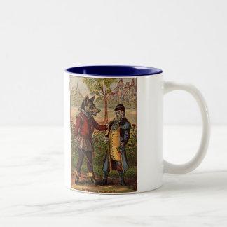 Beauty & The Beast Merchant and The Beast Two-Tone Coffee Mug