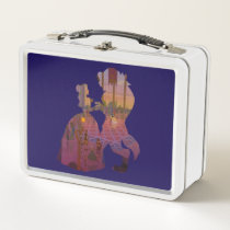 Beauty & The Beast | Silouette Dancing Metal Lunch Box