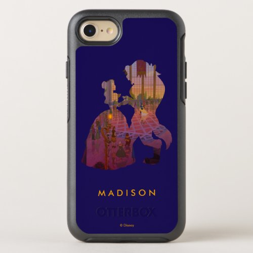 Beauty & The Beast   Silouette Dancing Phone Case