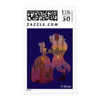 Beauty & The Beast   Silouette Dancing Postage