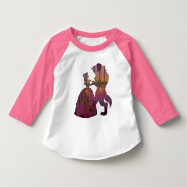 Disney Themed Beauty & The Beast | Silouette Dancing T-Shirt