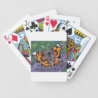 Beauty & the Lilac Bicycle Playing Cards