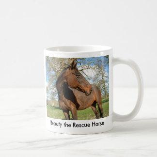 Beauty the Rescue Horse Coffee Mug