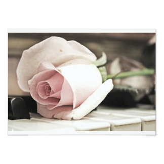 Beauty treatment-pink rose and candle card