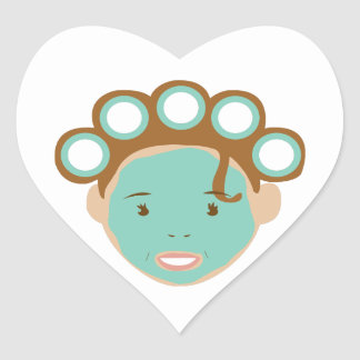 Beauty Treatment Heart Stickers