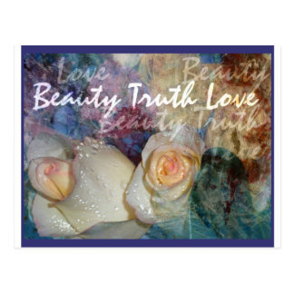 Beauty, Truth, Love Post Cards
