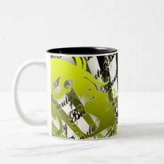 Beauty Two-Tone Coffee Mug