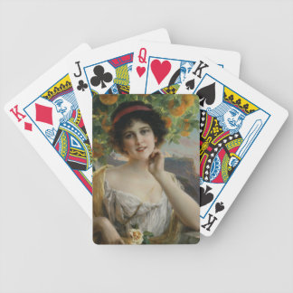 Beauty Under the Orange Tree by Emile Vernon Deck Of Cards