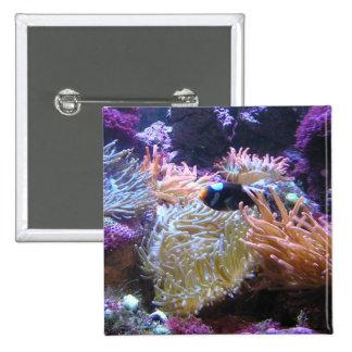 Beauty Underwater Pinback Button