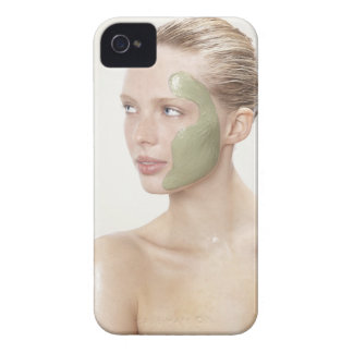 beauty, wet, spa, hair up, blonde, blue eyes iPhone 4 cover