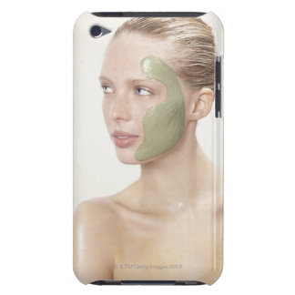 beauty, wet, spa, hair up, blonde, blue eyes iPod Case-Mate case