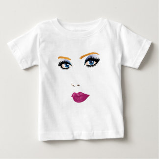 Beauty woman face 2 baby T-Shirt